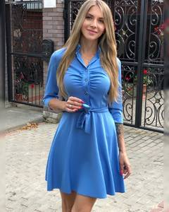 Платье короткое современное Ш1104