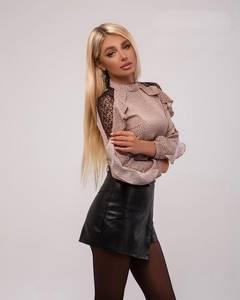 Блуза с длинным рукавом А27118