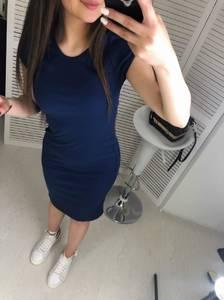Платье короткое облегающее Ц7479