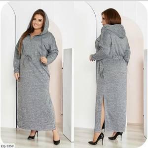 Платье длинное с длинным рукавом А27101
