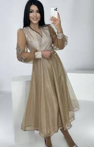 Платье длинное нарядное А37498