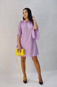 Платье короткое однотонное Ц9790