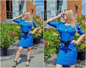 Платье короткое нарядное Ч2985