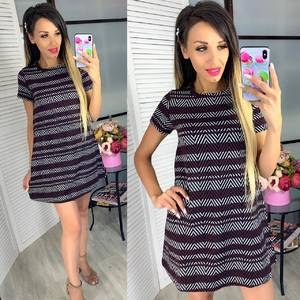 Платье короткое нарядное Ч3283