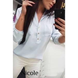 Блуза для офиса Ч4524