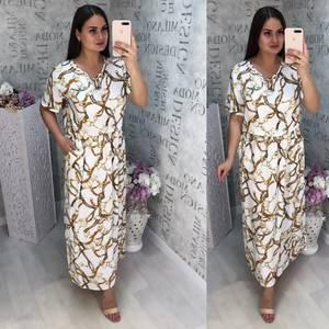 Платье длинное нарядное Ц6832