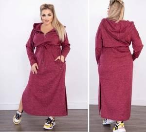 Платье длинное повседневное А56523