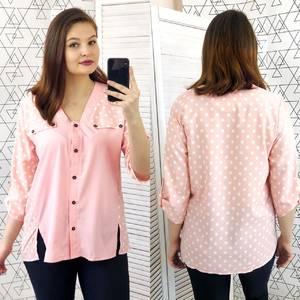 Рубашка с принтом Ц5116
