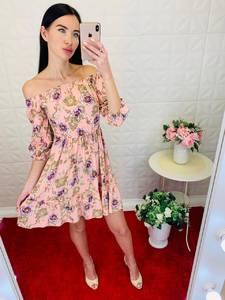 Платье короткое летнее Ц6906