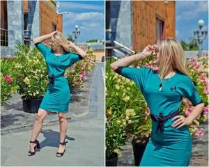 Платье короткое нарядное Ч2986