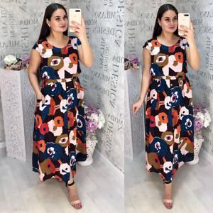 Платье длинное летнее Ц6835