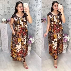 Платье длинное летнее Ц6838