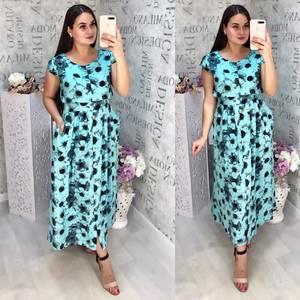 Платье длинное летнее Ц6841