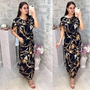 Платье длинное летнее Ц6843