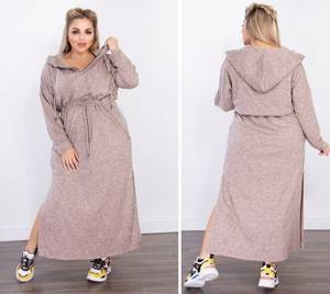 Платье длинное повседневное А56524