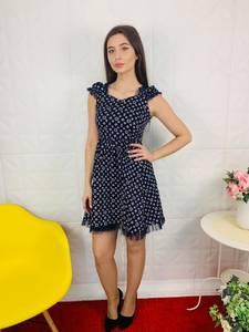Платье короткое современное Ц6806