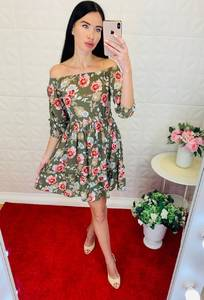 Платье короткое летнее Ц6907