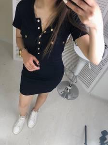 Платье короткое облегающее Ц7466