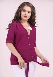 Рубашка с коротким рукавом Ч1837