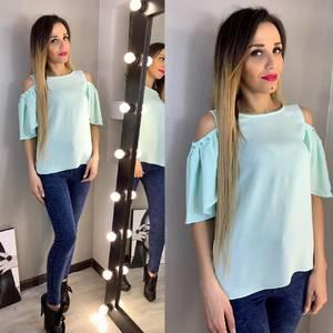 Блуза с коротким рукавом Х9358