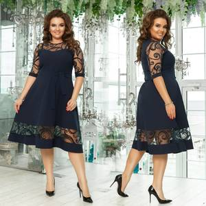 Платье короткое нарядное Х9813