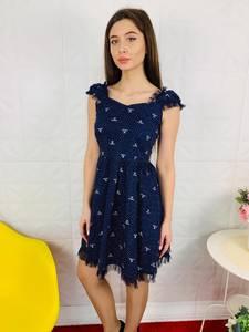 Платье короткое современное Ц6807