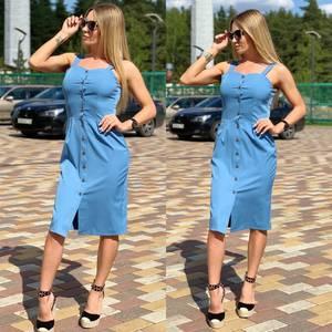 Платье летнее короткое Ц6875