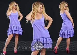 Платье короткое летнее Ц6908