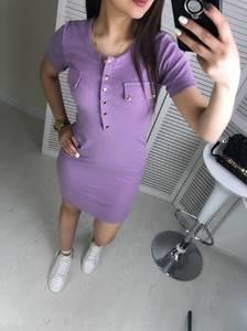 Платье короткое облегающее Ц7467