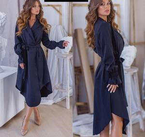 Платье длинное однотонное Я6560