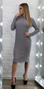Платье короткое с длинным рукавом А54244