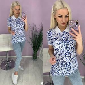 Блуза с коротким рукавом Ц5844