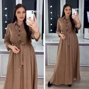 Платье длинное нарядное Я0802