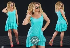 Платье короткое летнее Ц6911