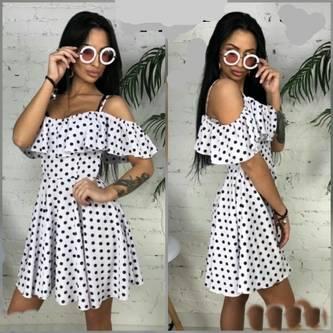 Платье короткое летнее Ц6022