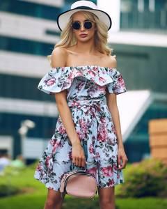 Платье короткое летнее Ц6912