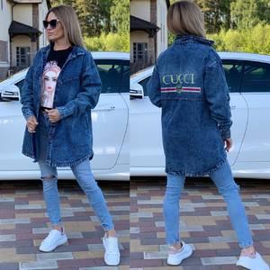 Джинсовая куртка Ц7554