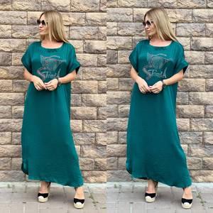 Платье длинное летнее Ч4015