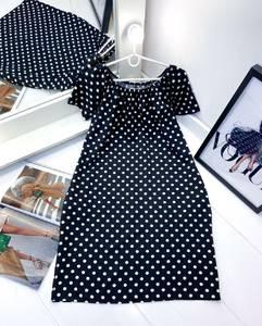 Платье короткое с коротким рукавом А27978