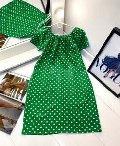 Платье короткое с коротким рукавом А27980