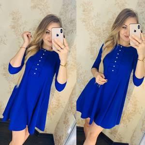 Платье короткое нарядное Я4398
