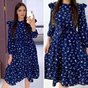 Платье короткое нарядное Я6573