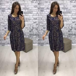 Платье короткое нарядное вечернее Т6110