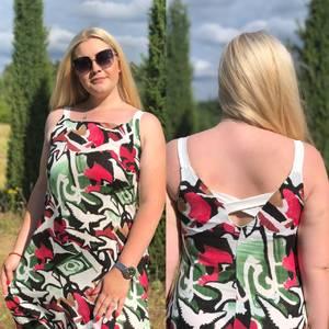 Платье длинное летнее Ч4374