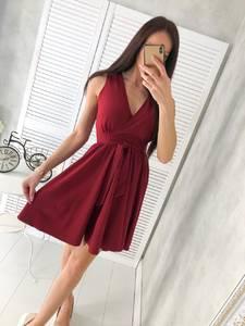 Платье короткое нарядное Ц6478