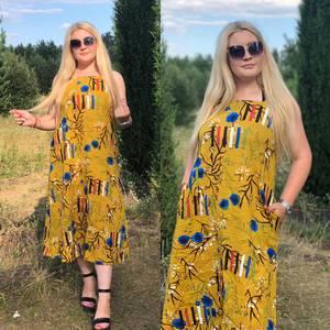 Платье длинное летнее Ч4379