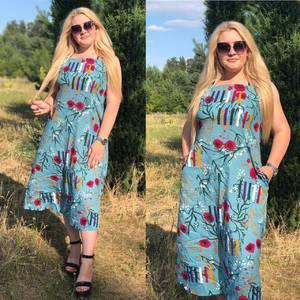 Платье длинное летнее Ч4380