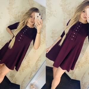 Платье короткое нарядное Я4399