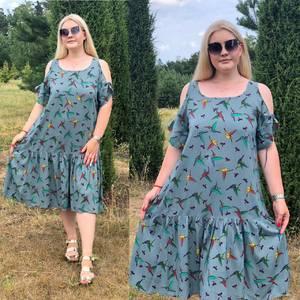 Платье короткое летнее Ч4384