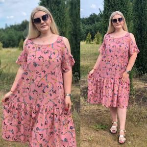 Платье короткое летнее Ч4385
